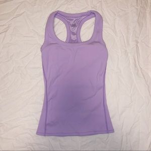 Lavender ALO Yoga Ribbed Tank (XS) Never Worn